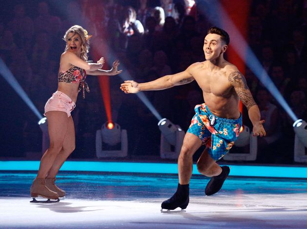 A 'Dancing On Ice' performance we think about more than we care to