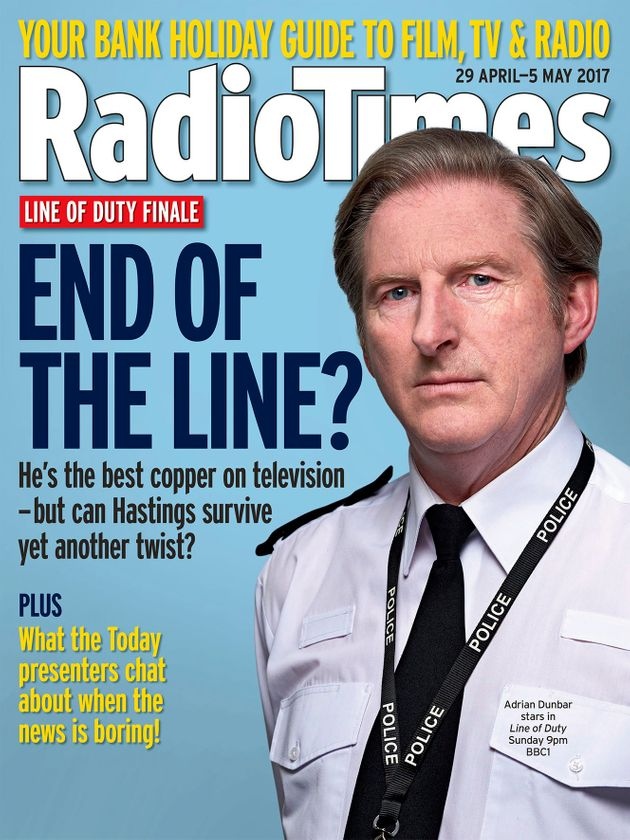 'Line Of Duty': Ted Hastings Was Meant To Be Very Different, Admits Writer Jed