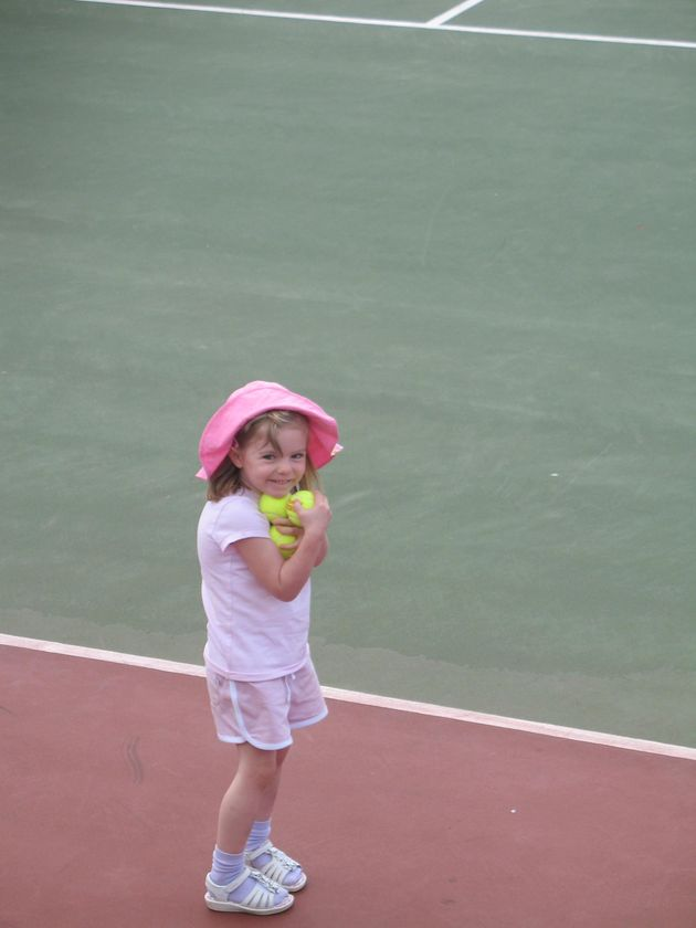 Madeleine McCann disappeared on 3 May 2007. She is pictured here at the resort where her family were...