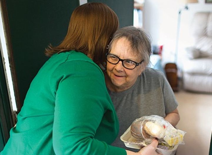 "Meals on Wheels deliveries can help seniors remain at home. <a rel=""nofollow"" href=""https://www.flickr.com/photos/breadforthe"