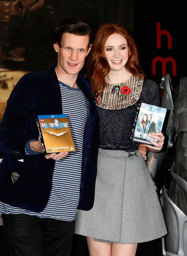 Matt and Karen were in 'Doctor Who'