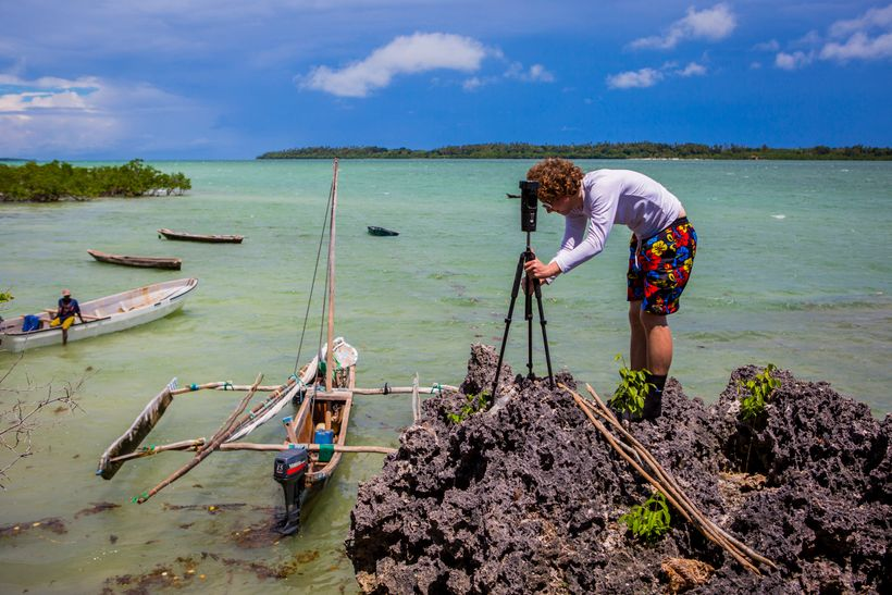On the edge, Ben Kreimer using 360 video technology to tell the story of aquaculture innovation in Tanzania through the Blue