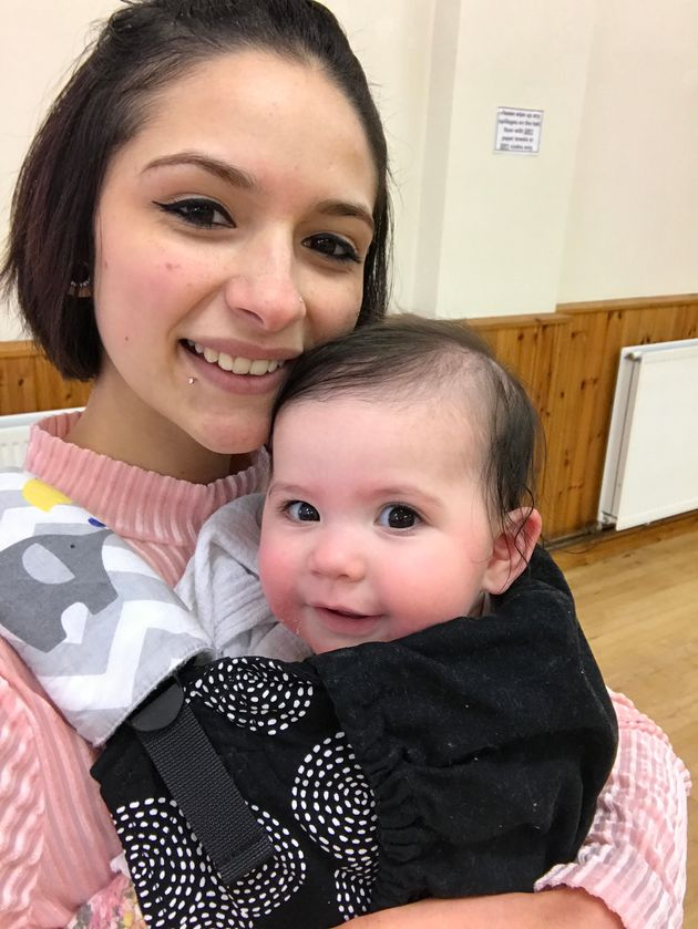 Millie Copeman and her daughter, eight