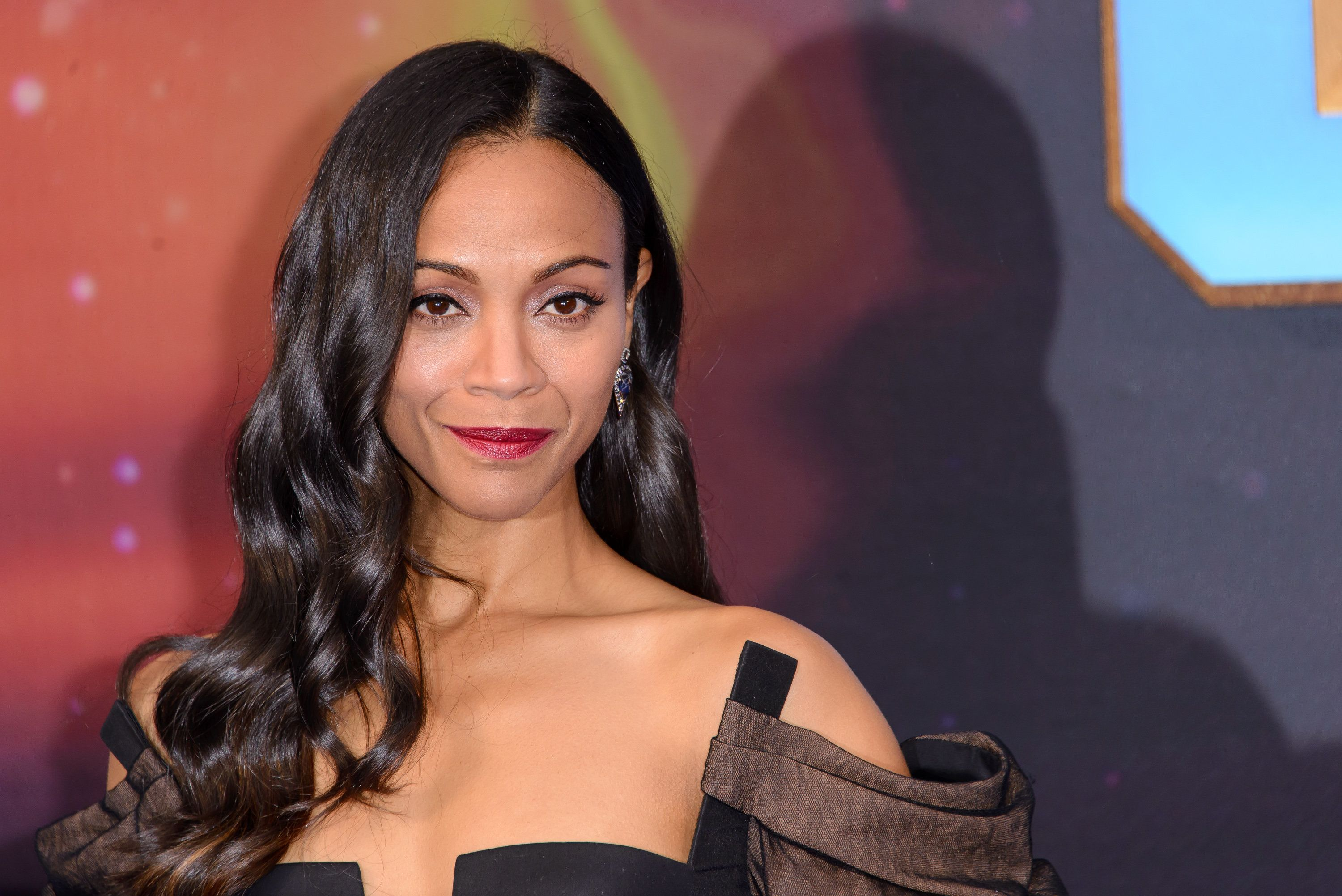 LONDON, ENGLAND - APRIL 24: Zoe Saldana attends the European Gala Screening of 'Guardians of the Galaxy Vol. 2' at Eventim Apollo on April 24, 2017 in London, United Kingdom. (Photo by Joe Maher/FilmMagic)