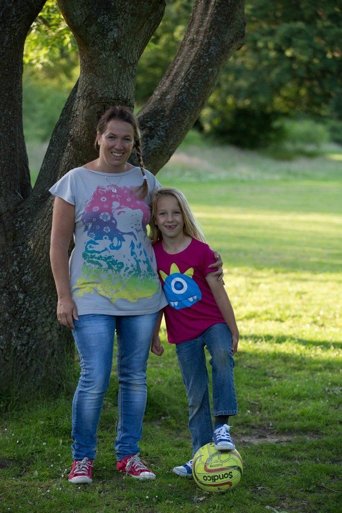 Cheryl Rickman and her daughter started their own T-shirt line called Climbing Trees.