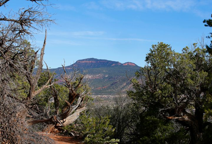 The area known as Bears Ears, near Blanding, Utah, was designated a national monument by President Barack Obama.