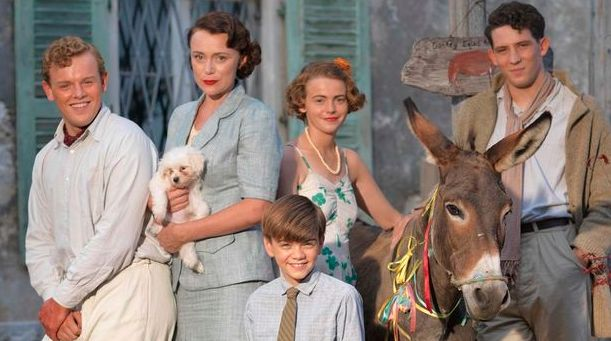 Keeley calls her Durrells co-stars her adopted family, out in