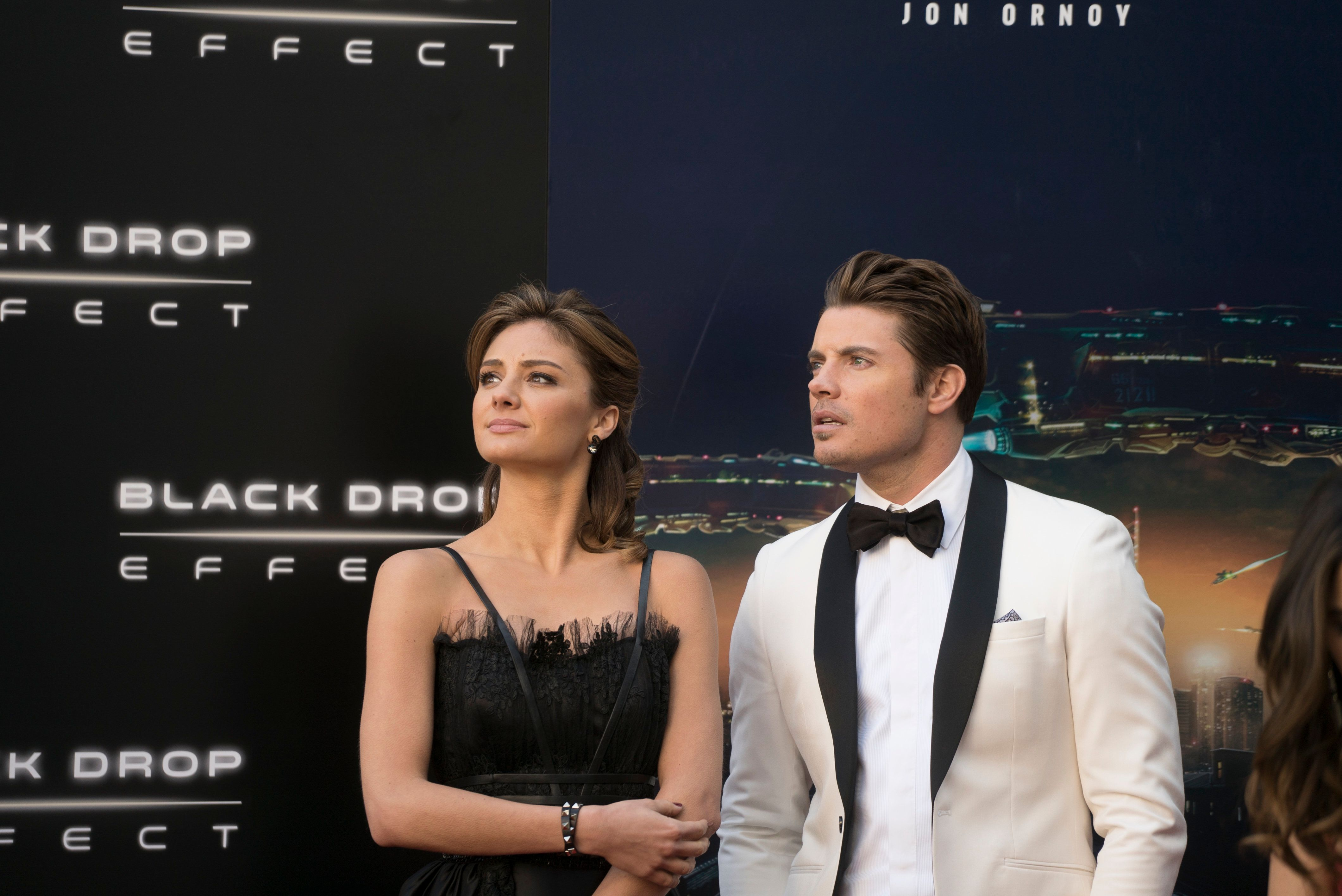 "Josh Henderson and Christina Evangelista in ""The Arrangement."""