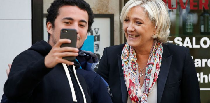 National Front party leader, Marine Le Pen, has been campaigning on a populist agenda.