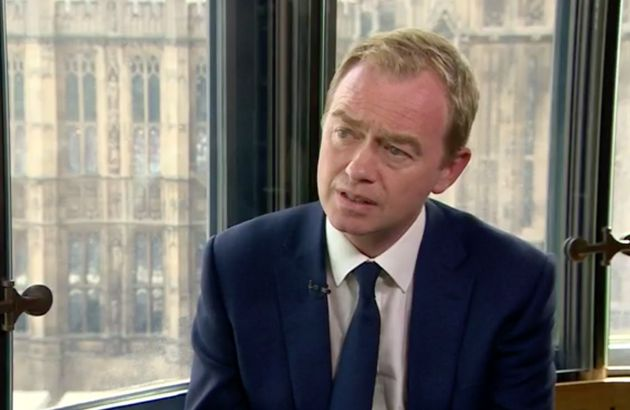 Tim Farron: 'I don't believe that gay sex is a