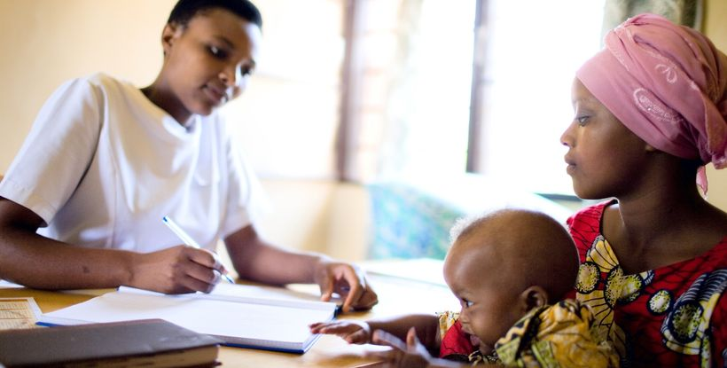 Despite a major shortage of health workers, Rwanda has become something of a model for sustainable health programming.