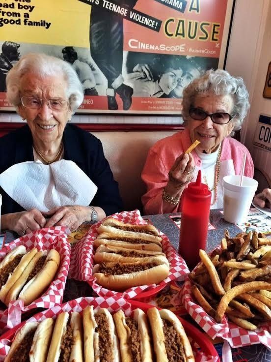 Another day, another hot dog lunch fit for queens.