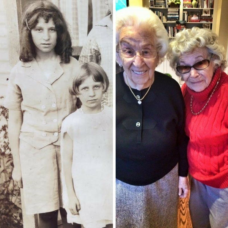 """The sisters have lived in Clarksburg, West Virginia their whole lives. Liljenquist said thesibling rivalry between her grandma and great aunthas gotten """"stronger with age."""""""