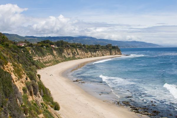 "Go to Malibu with your besties for a laid-back California getaway. Take a <a href=""http://www.huffingtonpost.com/topic/surfin"