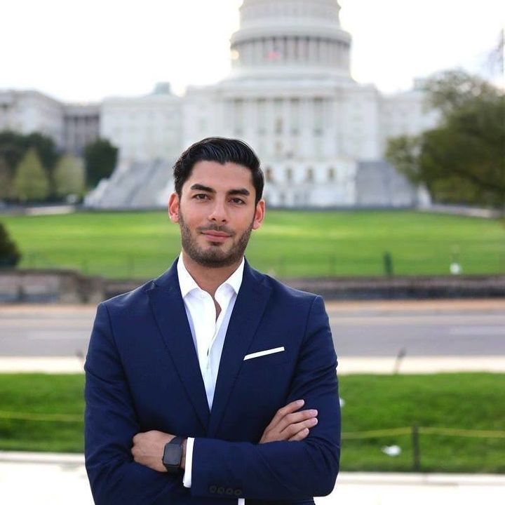 Ammar Campa-Najjar is running for California's 50th District in the San Diego area.