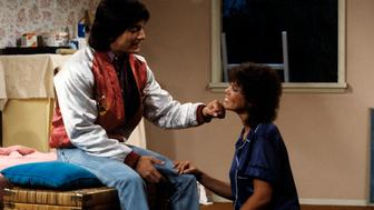 UNITED STATES - DECEMBER 23:  HAPPY DAYS - 'Social Studies' 1/31/84 Scott Baio, Erin Moran  (Photo by ABC Photo Archives/ABC via Getty Images)
