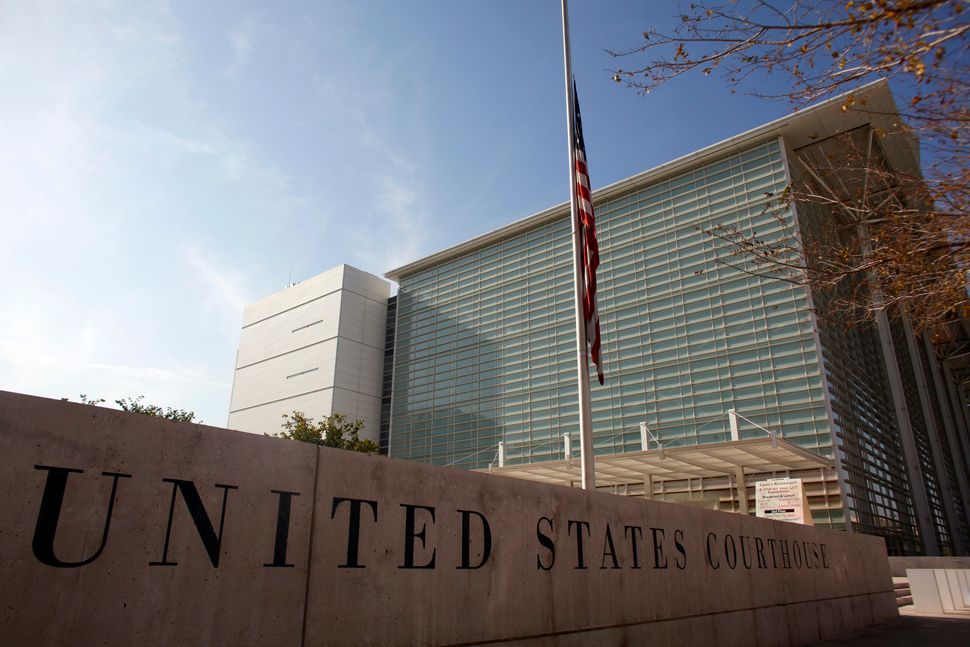 The Sandra Day O'Connor U.S. Courthouse in Phoenix routinely tries illegal re-entry cases against immigrants apprehended far