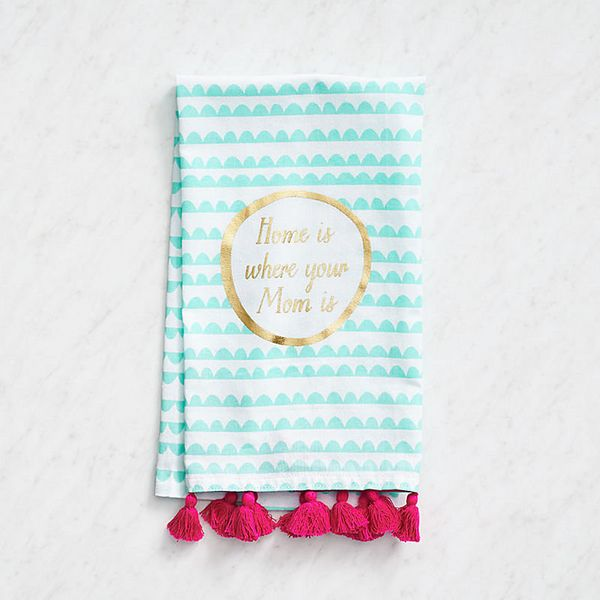 """<i>Buy it from<a href=""""http://www.papersource.com/item/Home-Is-Where-Mom-Is-Tea-Towel/3305_001/10000501.html"""" target=""""_"""