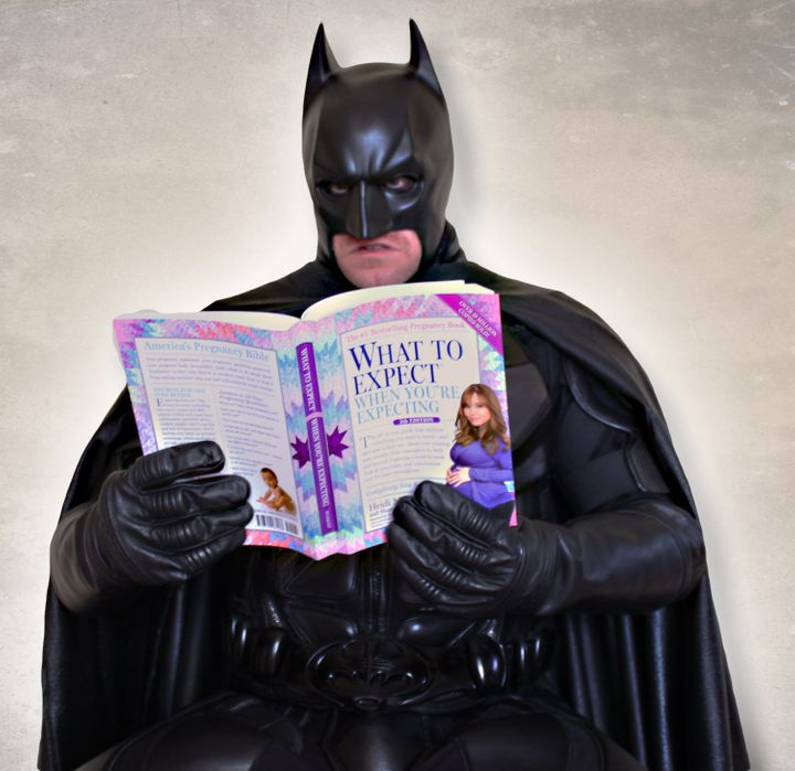 Batman getting educated.