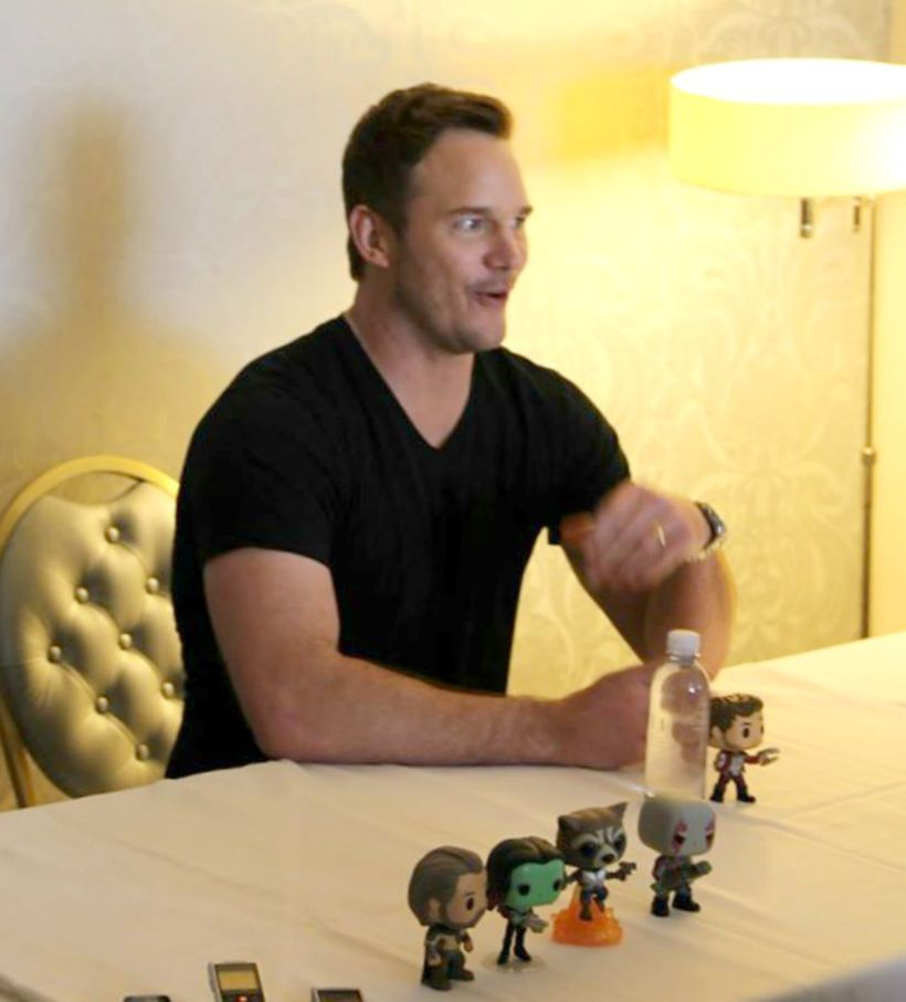 Chris Pratt confesses to improving some lines in <em>Guardians of the Galaxy Vol. 2</em>
