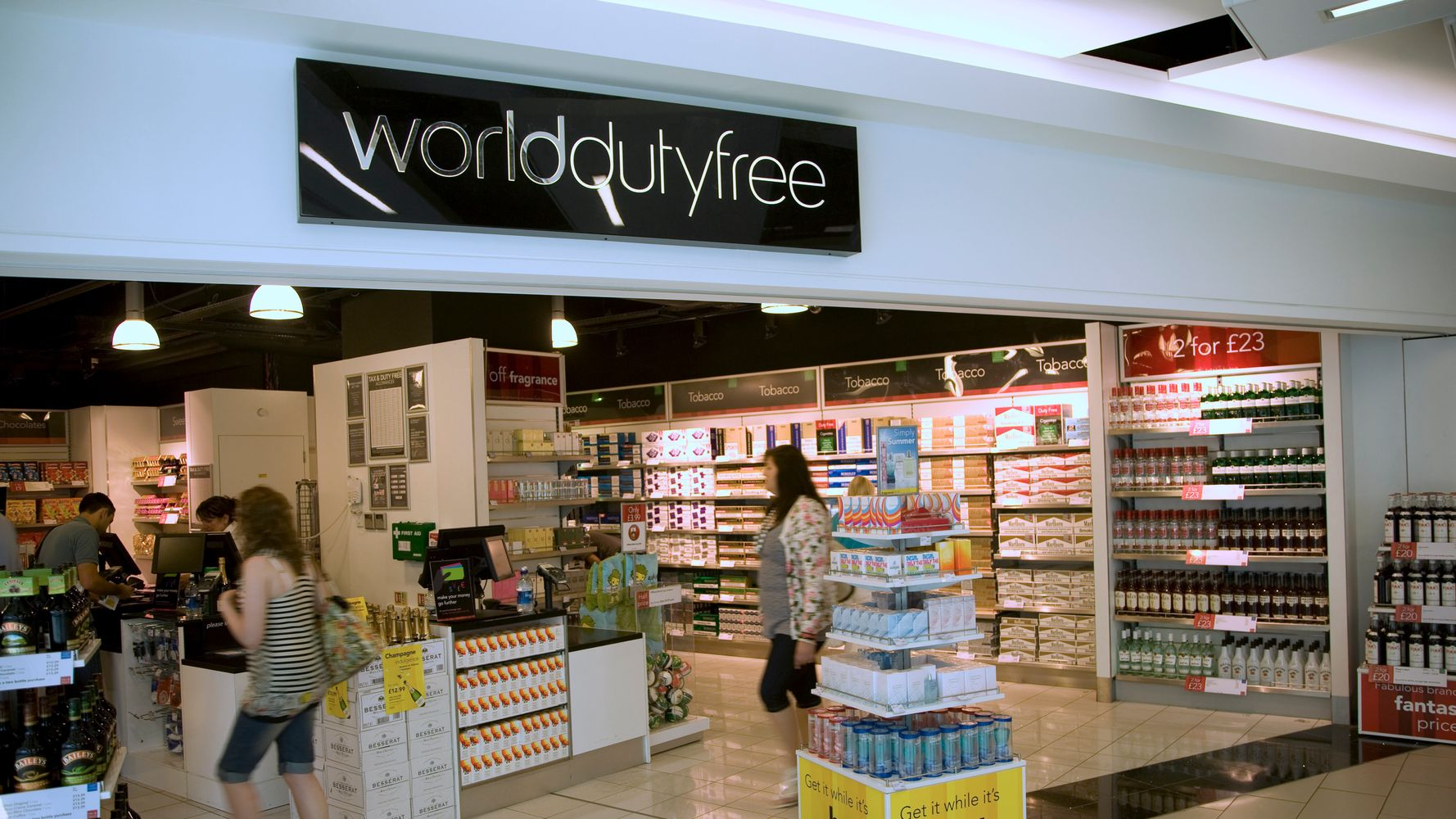 Duty Free Gin, Perfume And Toblerone Are Cheaper At The