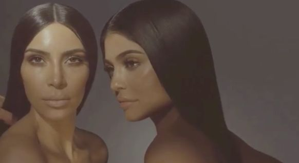 Kim Kardashian And Kylie Jenner's Debut KKW Collection Lip Kit Has Been