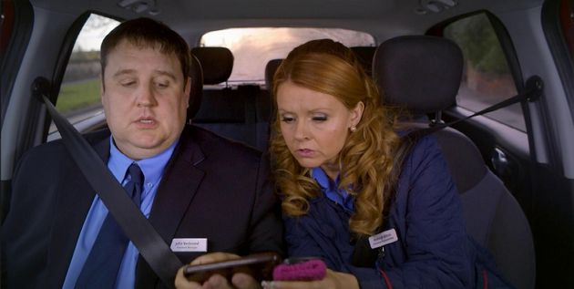 Peter Kay and Sian Gibson star in the delightful 'Car