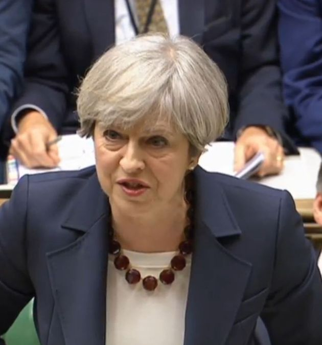 Theresa May faced Jeremy Corbyn at PMQs for the final time this