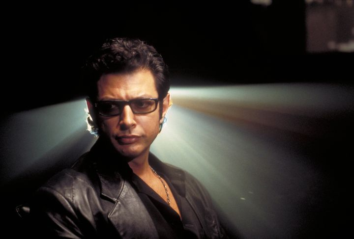 "Jeff Goldblum portrayed Dr. Ian Malcolm in the first ""Jurassic Park"" films."