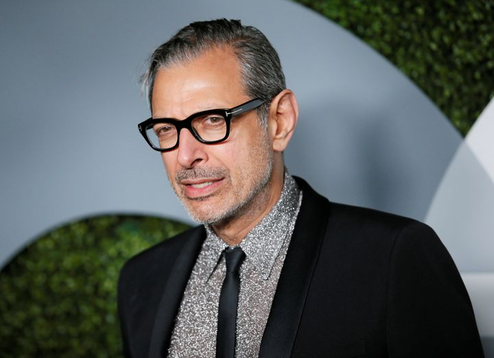 Jeff Goldblum is seen at an event last December. The actor has said that he felt satisfied with his role in the fir