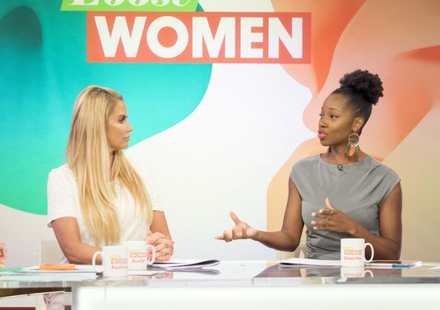 Katie Price and Jamelia used to appear on 'Loose Women'