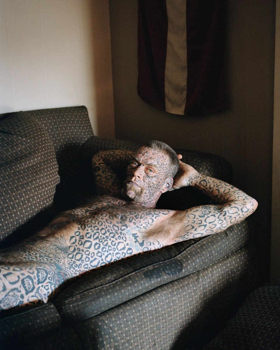 "Larry, Texas, 2015<a href=""http://www.huffingtonpost.com/entry/photography-leopard-emilie-regnier_us_58f13c49e4b0bb9638e4048f"