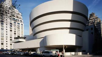 Solomon R. Guggenheim Museum (Photo by Angelo Hornak/Corbis via Getty Images)