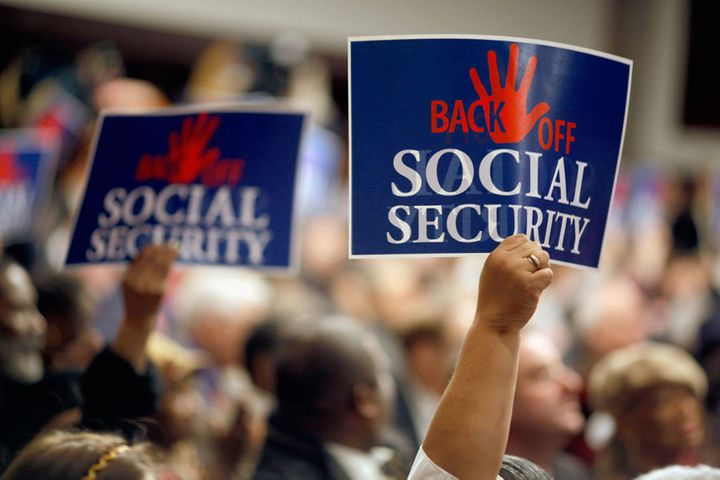 wall street's solution to every problem: cut social security