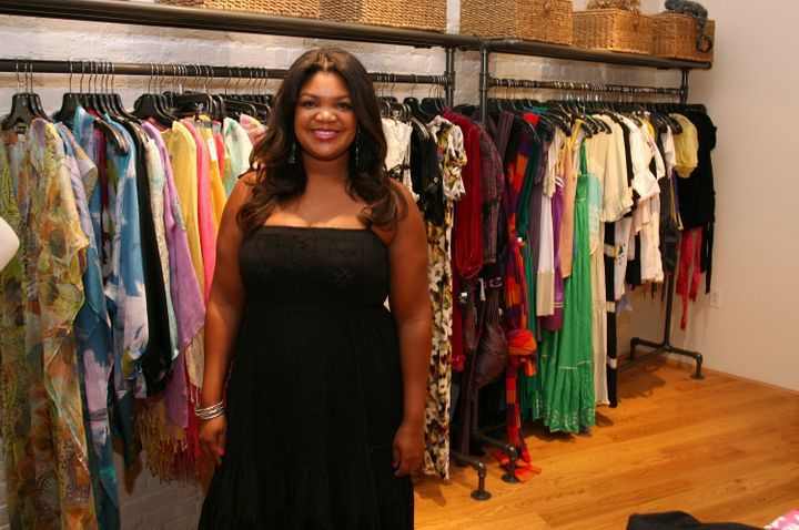 Evin Cosby poses in her store, pb & Caviar, in 2008.