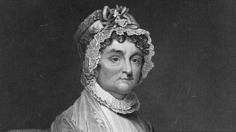 Mrs John Adams (1744-1818), Abigail Adams was the wife of the second US President John Adams. She was the mother of sixth President John Quincy Adams and her husband often sought her opinion on many political and government matters. (Photo by: Universal History Archive/UIG via Getty Images)