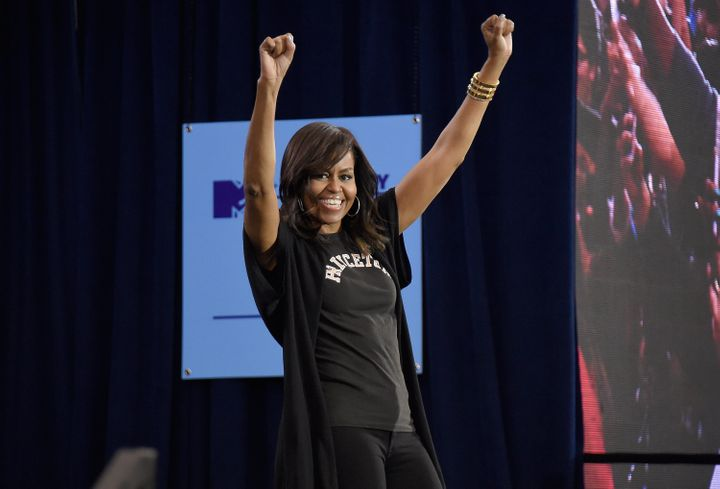 First lady Michelle Obama at last year's event.