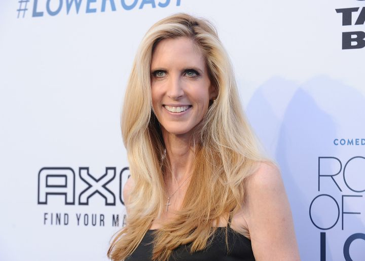 Ann Coulter attends the Comedy Central Roast of Rob Lowe at Sony Studios on August 27, 2016 in Los Angeles, California. (Phot