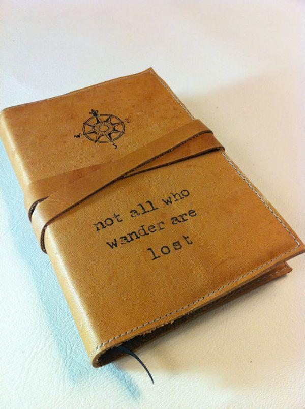 "$32, inblue. <a href=""https://www.etsy.com/listing/84225522/leather-journal-leather-sketchbook"" target=""_blank"">Buy here.</a>"