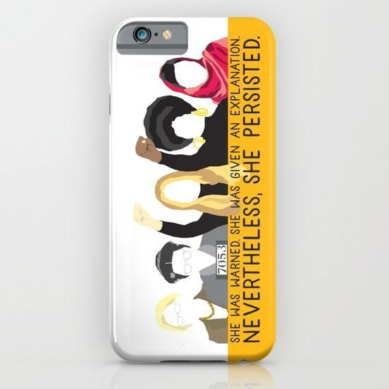 "Society6, <a href=""https://society6.com/product/nevertheless-she-persisted344226_iphone-case#s6-6762593p20a9v375a52v377"" targ"