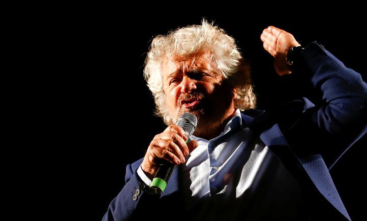 "Italian populist politician Beppe Grillo, sometimes referred to as the ""<a href=""https://dailyreckoning.com/brexit-trump-now-"