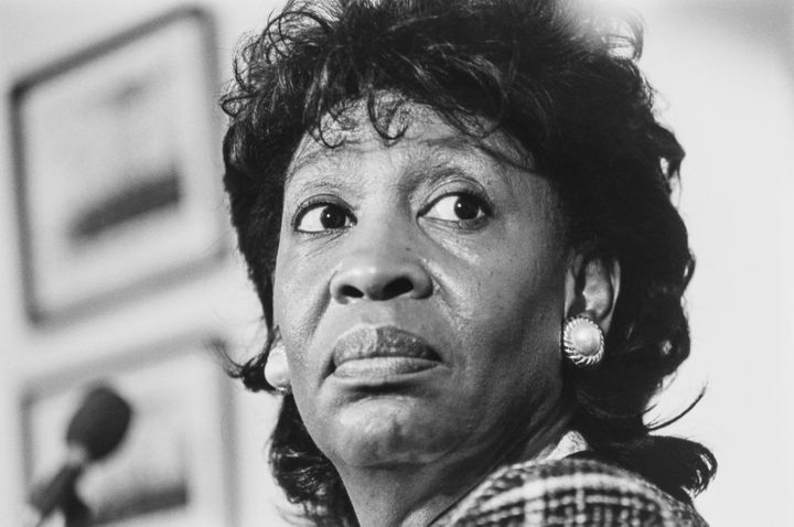 Rep. Maxine Waters (D-Ca.) in 1993.