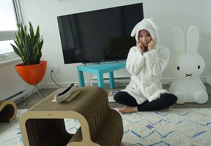 An apartment tour by fashion blogger La Carmina.