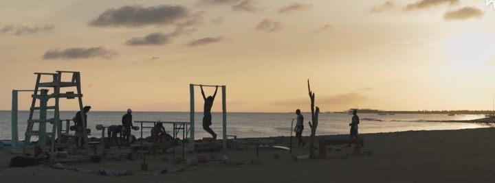 Gym memberships in Cape Verde were too expensive forAlcindo Soares, so he built his own facility out of trash he found