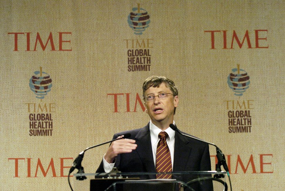 Where Bill Gates decides to spend enormous sums of money on public health, others follow.