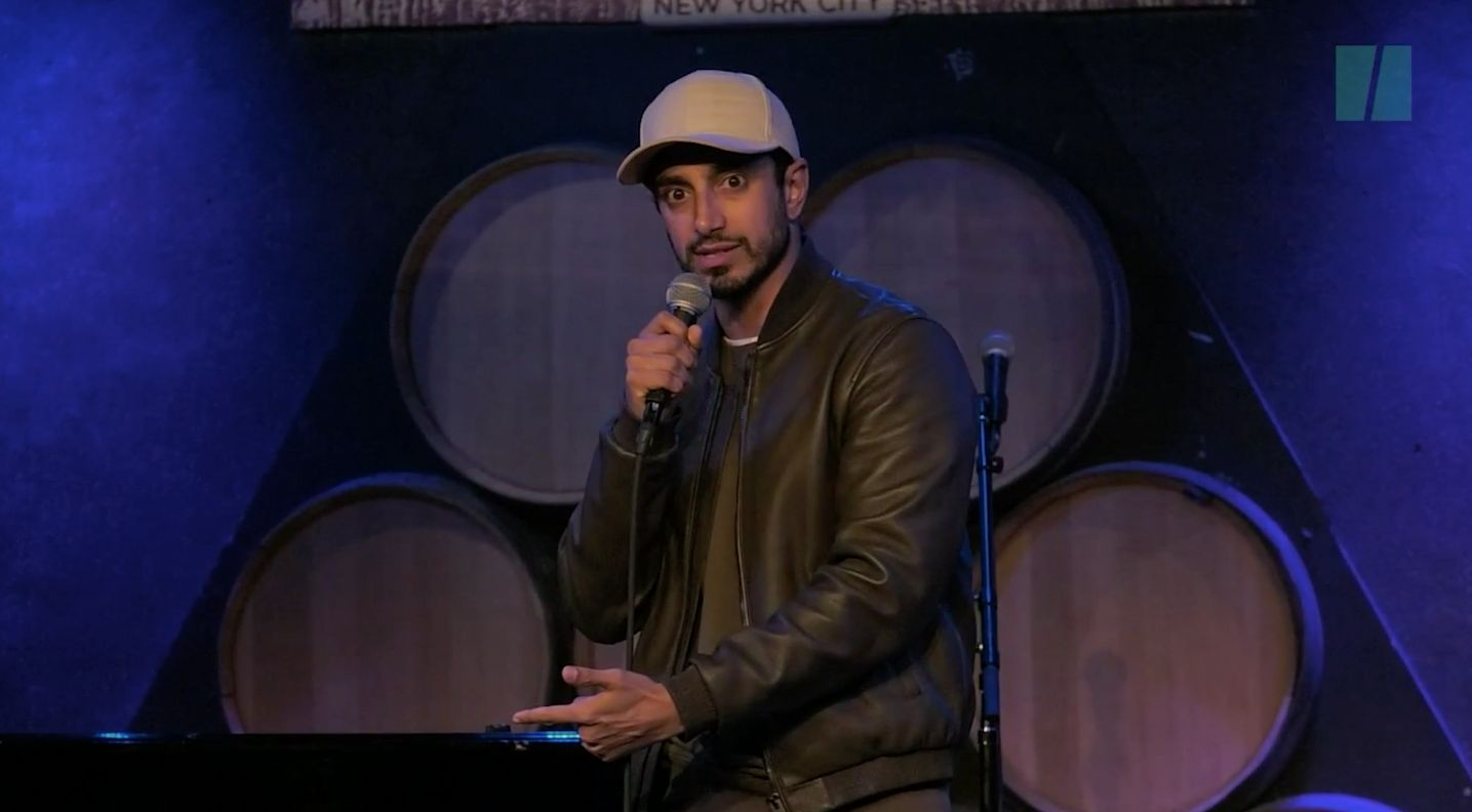 Riz Ahmed explained the true root of terrorism in his spoken word poem at Aasif Mandvis All-Star Deportation Jamboree which raised money for the ACLU and IRC