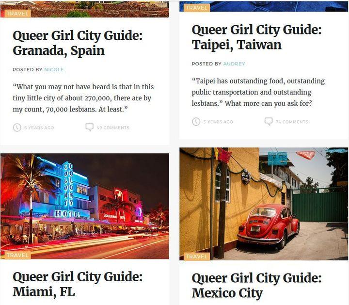popular lesbian websites