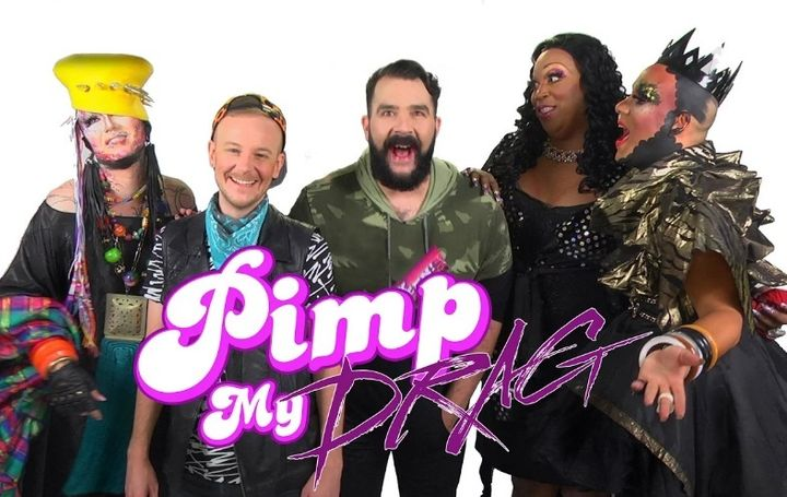One Half Nelson, Adam Joseph, Jonny McGovern, Lady Red Couture and Erickatoure Aviance on Pimp My Drag