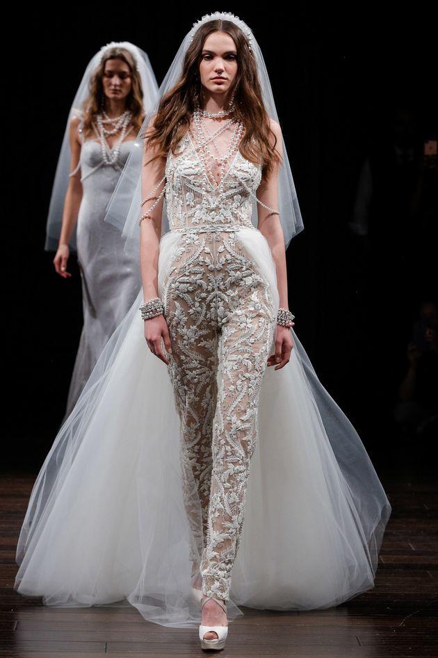 Bridal Fashion Week Spring 2018 Nearly Naked Wedding