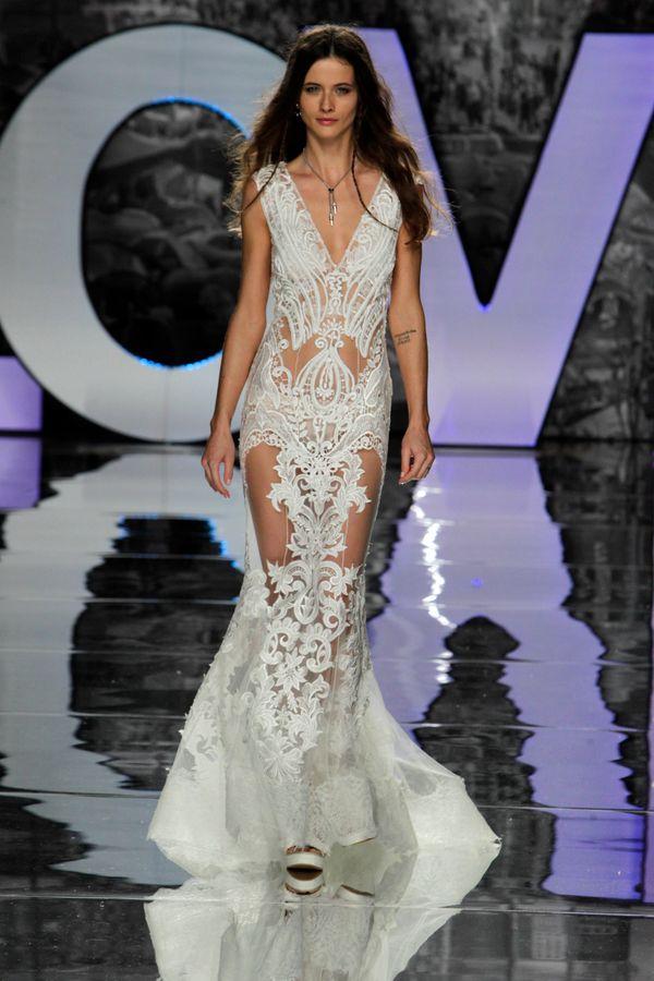 Bridal Fashion Week Spring 2018: Nearly-Naked Wedding